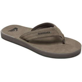 Quiksilver Carver Nubuck Sandals Men grey/grey/black